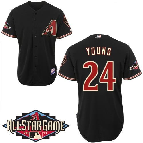 Arizona Diamondbacks  All-Star Jerseys # 24 Chris Young Authentic Baseball 44-56 Drop Shipping