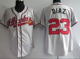 Atlanta Braves #23 DIAZ Jersey / Mix Order Baseball Jerseys