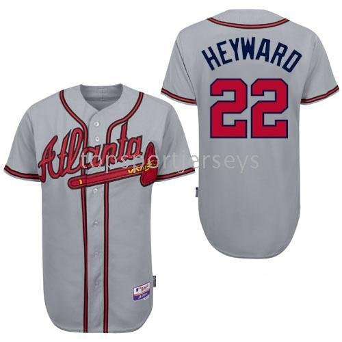 Atlanta Braves 100% Polyester Jerseys #22 Jason Heyward  Baseball Jersey