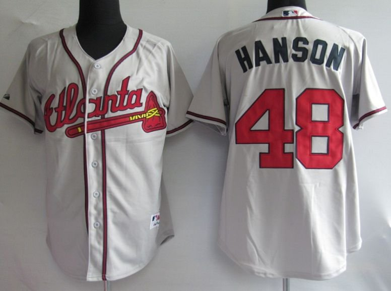 Jerseys Atlanta Braves 48  Hanson Gey