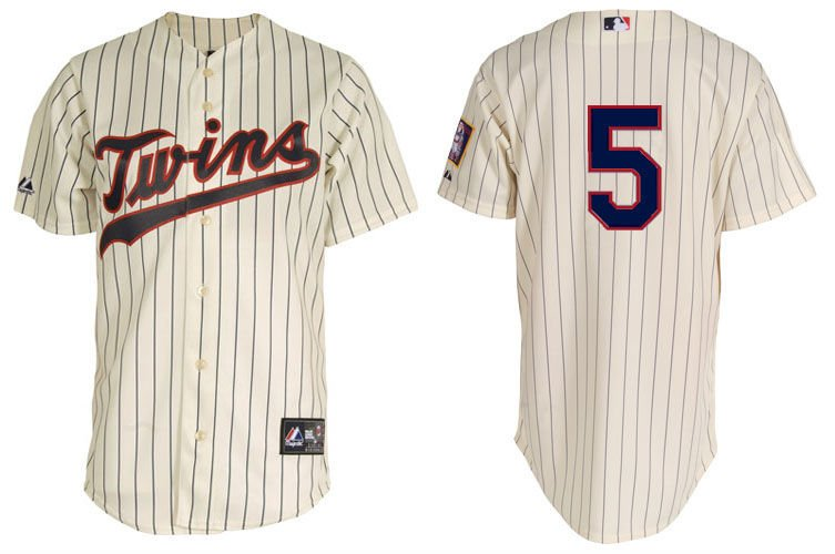 Anti-Bacterial Minnesota Twins 5 Cuddyer White Baseball Jerseys