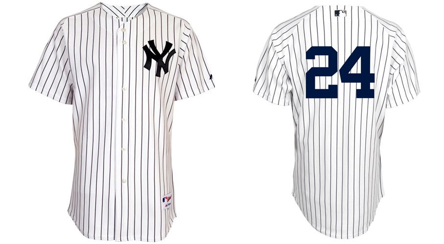 2011 New York Yankees Jersey #24 Robinson Cano Pinstripe Baseball Jerseys