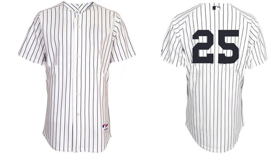 2011 Brand New York Yankees Baseball Jerseys #25 Mark Teixeira Jersey Sport Jerseys