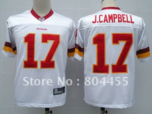 Adults Sport Jerseys Washington Redskins #17 Doug Williams White Football Jerseys Size:48-56