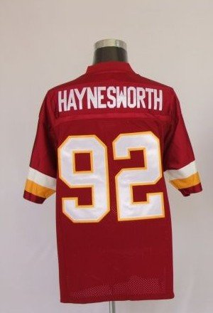 #92 Washington Red Skins Football Jerseys, Sports 100% Polyseter Non-mesh Jerseys