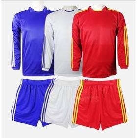 Long Sleeve Tabula Rasa Blank Polyester Breathable Football Jersey