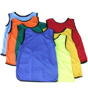 Children's Sleeveless Comfortable and Quick Dry Professional Training Football Jersey