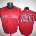 Hot Selling Free Shipping Boston Red Sox # 20 Youkilis Baseball Jerseys Sport Men's Jerseys