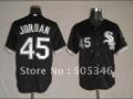 Jerseys Chicago White Sox 45 Jordan Black