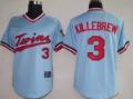 Free Shipping Minnesota Twins #3 Killebrew Baby Blue M&N Baseball Jersey