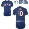 Texas Rangers Kids Jerseys # 10 Michael Young Blue Children Sport Jerseys Baseball Jerseys