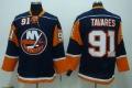 Hockey Jersey New York Islanders #91 Tavares Long Seelve Jerseys