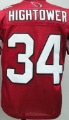 Red Arizona Cardinals #34 Hightower Jerseys Stitched Name and Number