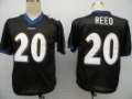 Baltimore Ravens #20 Reed Black Retail and Wholesale American Football Jerseys
