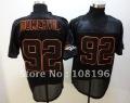 Mix Order Denver Broncos #92 Elvis Dumervil Black Jerseys Size 48-56