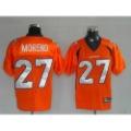 Denver Broncos #27 Knowshon Moreno Football Jerseys Size 48-54 Sport Jerseys